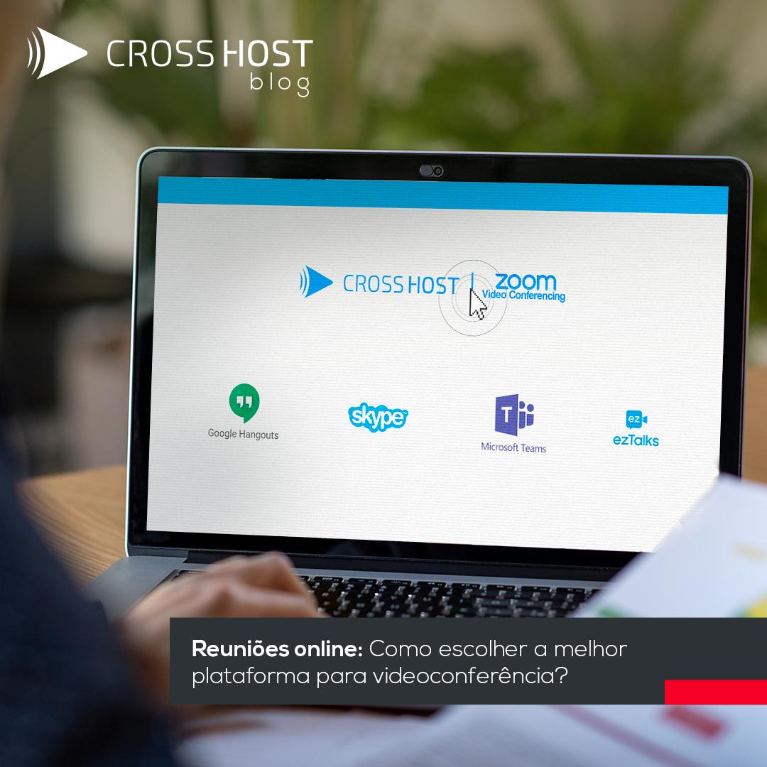 Como escolher a melhor plataforma para videoconferência?