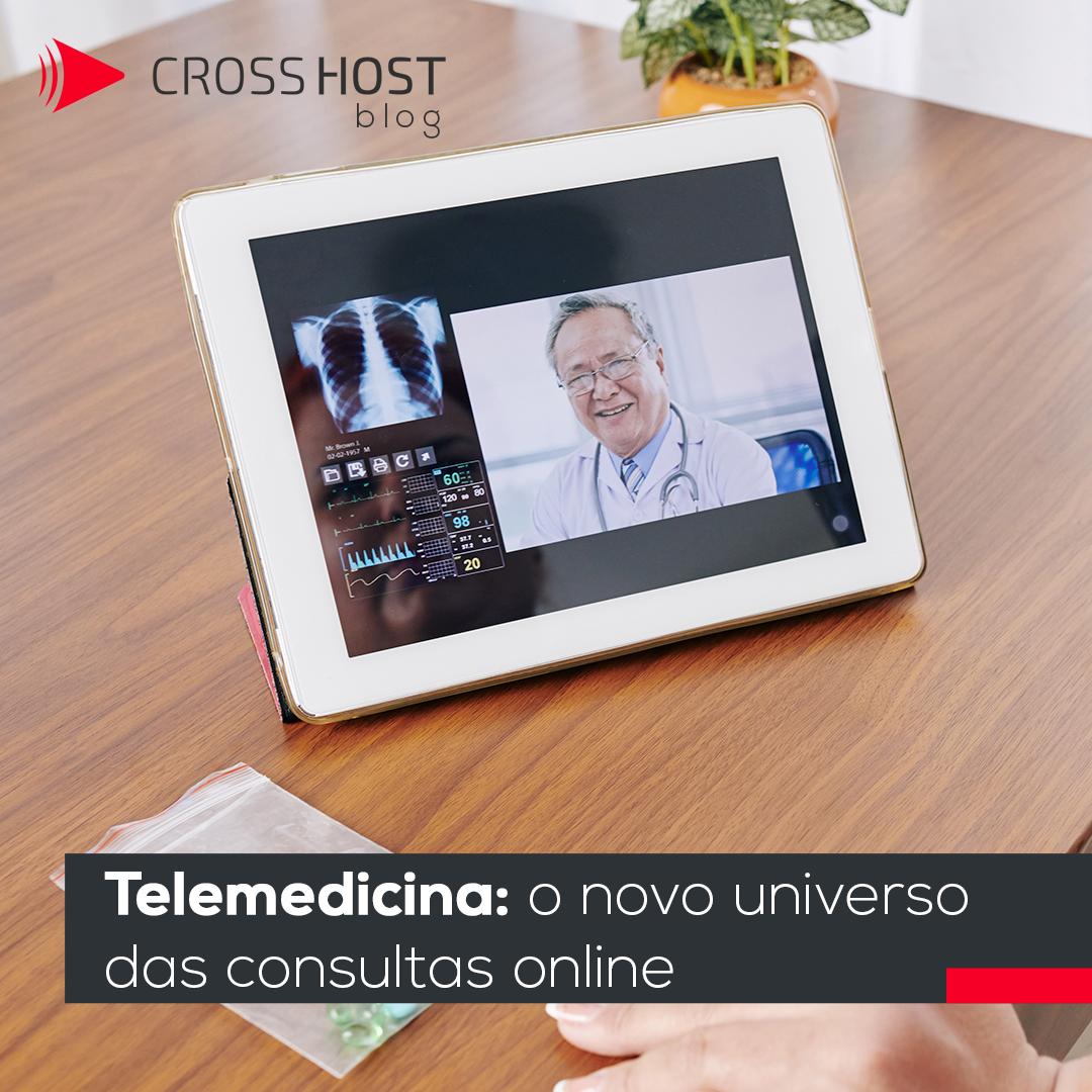 Telemedicina: o novo universo das consultas online