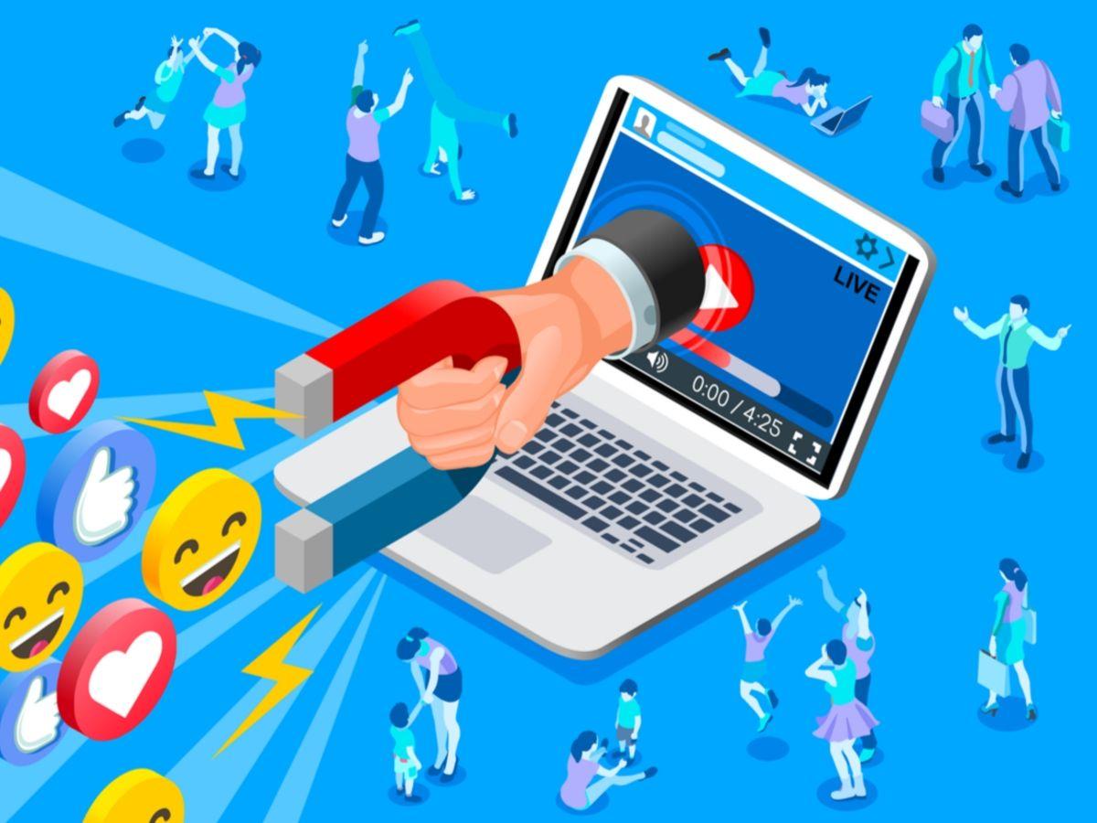 lives redes sociais