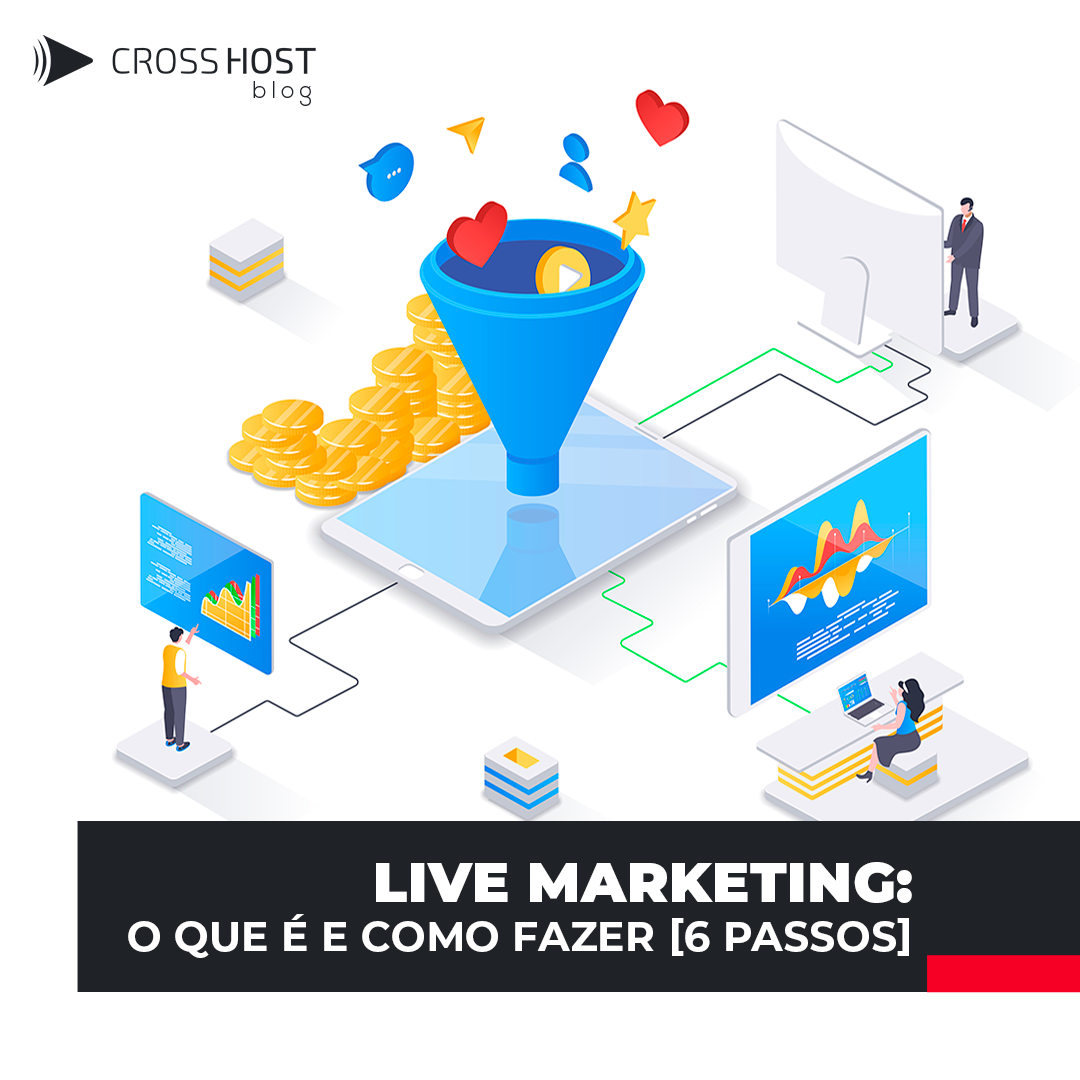 Live Marketing :  O que é e como fazer [6 passos]