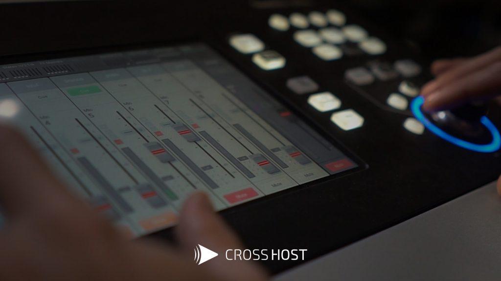 mesa de som digital transmissão ao vivo